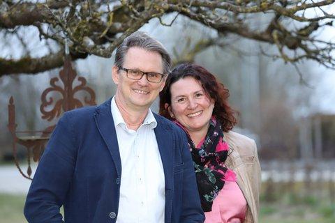 Thomas Zehetbauer mit seiner Frau