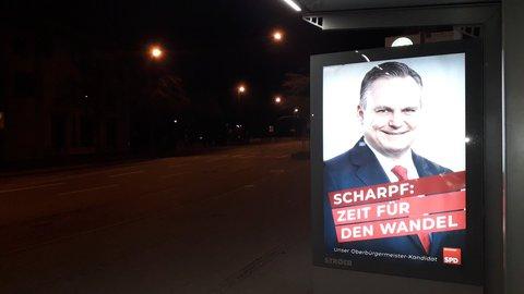 Es ist Nacht in Ingolstadt. Politisch gesehen war es ein historischer Wahlsonntag